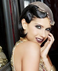 we loved this Glam Make up inspired in Great Gatsby