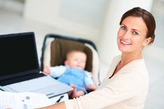 Jobs for Moms Who Want to Work from Home | Stretcher.com