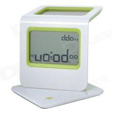 Wake up to this #solar powered alarm clock! http://dx.com/p/solar-powered-2-3-lcd-digital-clock-w-calendar-alarm-thermometer-green-1-x-aaa-177021?utm_source=GoogleShoppingUS_medium=CPC_content=177021_campaign=Desk%20Clock=CPW4-6LMm7cCFUxp7Aod4g0AnQ