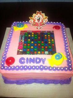 Top Candy Crush Saga Cakes