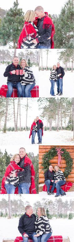 Winter Mini Session | Minnesota couple Photography | Brooke Powell Photography #holidays #minisession