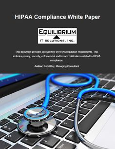 Don't miss our HIPAA Compliance White Paper