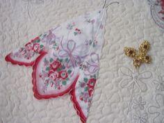 hankie quilt | Rita's Sew Fun: Grandma Day's Butterfly Hankie Quilt