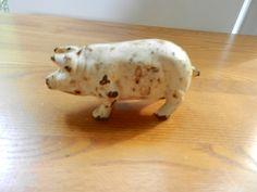 door stops antique | Antique Cast Iron Pig, Door Stop, Paperweight, Antique Cast Iron Farm ...