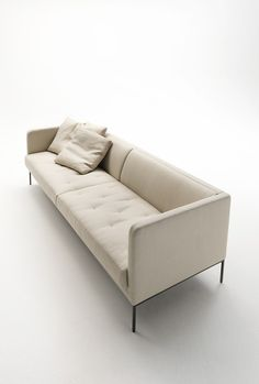 Sofa with removable cover EASY LIPP - Living Divani
