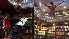 Reading net creates a kids' level in a library - Boing Boing