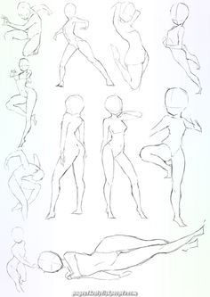 Learn To Draw Manga – Drawing On Demand – Drawing Techniques Drawing Base, Manga Drawing, Figure Drawing, Body Drawing, Anime Drawings Sketches, Pencil Art Drawings, Wie Zeichnet Man Manga, Sketch Poses, Poses References