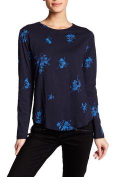 Print Slub Shirt