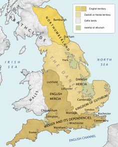 """The Danelaw, as recorded in the Anglo-Saxon Chronicle (also known as the Danelagh; Old English: Dena lagu; Danish: Danelagen), is a historical name given to the part of England in which the laws of the """"Danes"""" held sway and dominated those of the Anglo-Saxons. It is contrasted with """"West Saxon law"""" and """"Mercian law"""". The term has been extended by modern historians to be geographical."""