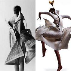 """Issey Miyake's """"Pleats Please"""" designer clothing line is being presented in a new aura, as a master of his art Issey Miyake's pleated pieces were the first time introduced in 1993."""