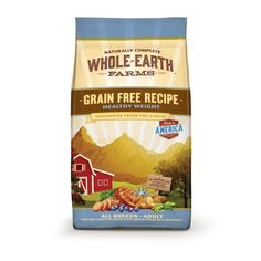 Whole+Earth+Farms+Grain+Free+Healthy+Weight+Adult+Dog+Food+-+Nutritious+and+tasty+grain-free+recipe+for+healthy+weight.+Smart+protein+balance+for+weight+maintenance,+comprised+of+lean+animal+and+plant+proteins. - http://www.petco.com/shop/en/petcostore/product/whole-earth-farms-grain-free-healthy-weight-adult-dog-food