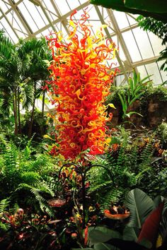 Chihuly glass art:) Franklin Park Conservatory,Columbus Ohio USA