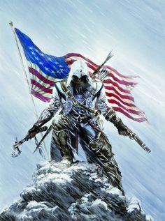 Assassin's Creed III - We interview artist Alex Ross about his ACIII art, Assassins vs Batman, and Assassin's Creed 3, The Assassin, Assassins Creed Game, Alex Ross, Overwatch, Vikings, Connor Kenway, Culture Pop, Fan Art