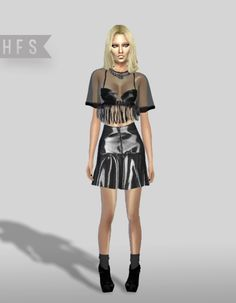Sims 4, Punk, Dresses, Style, Fashion, Fashion Styles, Dress, Fashion Illustrations, Gown