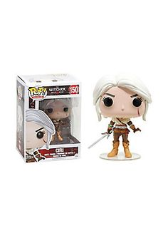 "Ciri, from <i>The Witcher 3: Wild Hunt</i> video game, is given a fun, and funky, stylized look as an adorable collectible Pop! vinyl figure from Funko!<br><ul><li style=""list-style-position: inside !important; list-style-type: disc !important"">Pop! Games 150</li><li style=""list-style-position: inside !important; list-style-type: disc !important"">3 3/4"" tall</li><li style=""list-style-position: inside !important; list-style-type: disc !important"">Vinyl</li><li style=""list-style-position…"