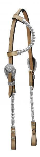 Showman™ Single Ear Headstall with Beaded Accents