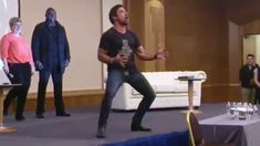 A traditional Haka, done by New Zealander Manu Bennett @ Spartacus Convention Sept. 2014