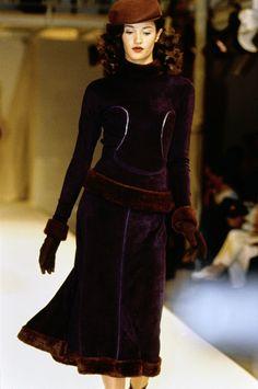 Azzedine Alaïa Fall 1991 Ready-to-Wear Fashion Show - Claudia Mason