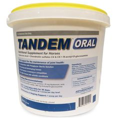 Tandem  Powder is a nutritional supplement for horses designed to help maintain your horses' joints healthy.