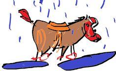 Crônicas Americanas: Pode tirar o cavalinho da chuva