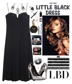 """""""Little black dress"""" by hubunch ❤ liked on Polyvore featuring Alexander Wang, Kendall + Kylie, Ice, Amour, Edie Parker, Topshop, River Island, Christian Dior, Lancôme and Bare Escentuals"""