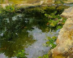 Summer Reflection 16x20 by Diane Ainsworth Oil ~ 16 x 20