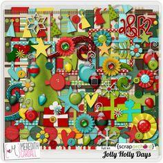 Jolly HollyDays by Meredith Cardall