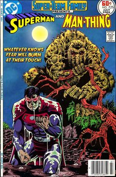 Super-Team Family: The Lost Issues!: Superman and Man-Thing