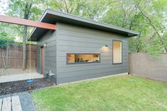 Party Shed + Swing + Architecture: Eagle Trail - contemporary - garage and shed - dallas - Durham Builders