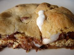 S'mores-stuffed chocolate chip cookies » And all the trimmings