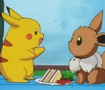 Inspiring picture cute, eevee, pikachu, sandwiches, vulpix. Resolution: 500x376. Find the picture to your taste!