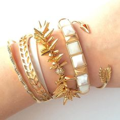 Perfectly layered #armparty #stelladotstyle
