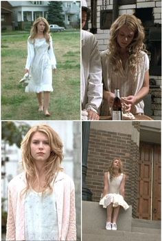 I adore Claire Danes' style in Polish Wedding! Put these together from screen shots from http://www.fanpop.com/spots/claire-danes/images/5773472/title/claire-polish-wedding-screencap