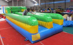 Inflatable Bungee Run WSP-015
