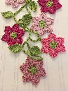 Crochet Garland, Bookmarks, Crochet Earrings, Etsy Shop, Store, Flowers, Jewelry, Crochet Flowers, Crochet Crafts