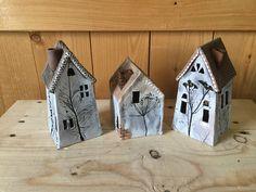 Natalya's wall photos | VK Clay Houses, Ceramic Houses, Miniature Houses, Ceramic Clay, Hand Built Pottery, Slab Pottery, Ceramic Pottery, Popsicle Stick Houses, Clay Fairy House