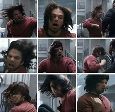 The beautiful winter soldier