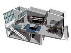 LOFT - Progetto di riconversione ex-edificio industriale in residenze ad alta efficienza