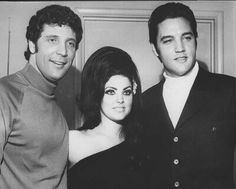Elvis & Priscilla Presley & Tom Jones