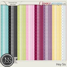 Hey Sis Pattern Papers