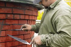 Photo: Allison Dinner | thisoldhouse.com | from How to Repair Mortar in a Brick Wall