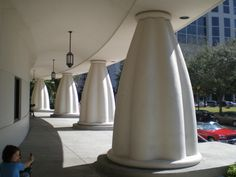 Sarasota's Selby Library, with its characteristic columns