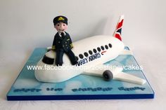 Pilot cake - For all your cake decorating supplies, please visit craftcompany.co.uk