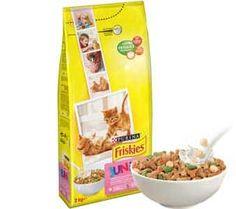 05cb7fadc4aa39 Profitez de 2 échantillons gratuits de croquettes Friskies Junior pour chat  de Purina offerts sur Yummypets