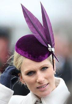 Zara Phillips Photos - Zara Phillips attends day 1 of the Cheltenham Festival at Cheltenham Racecourse on March 2013 in Cheltenham, England. - The Cheltenham Festival - Day 1 Zara Phillips, Millinery Hats, Cocktail Hat, Wedding Hats, Wedding Venues, Wedding Stuff, Fancy Hats, Red Hats, Derby Hats