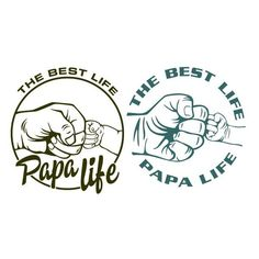 Papa Life The Best Life SVG Cuttable Design #SVG #SVGFile #SVG #SVGFiles #SilhouetteCameo #Silhouette #CutFile #CutFiles #Cricut…