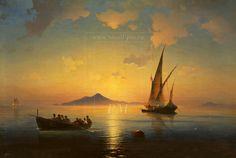Sunset by Aivazovsky