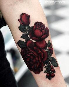 Floral Tattoo Ideas For Girls (38)