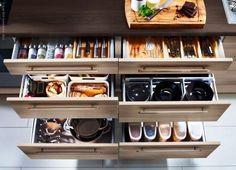 Cómo organizar el almacenaje de la cocina