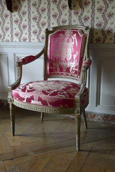 La visite du Petit Trianon: Chambre Dame d'Honneur